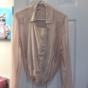 Blank Nyc small sheer jacket